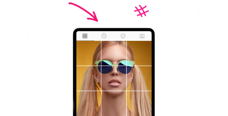 How to split photo into 9 squares for Instagram